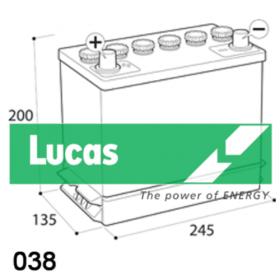 Lucas Premium LP038 Lucas Lawn Mower