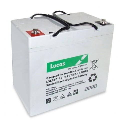 Lucas LSLC55-12 Golf Trolley Battery (55-12)