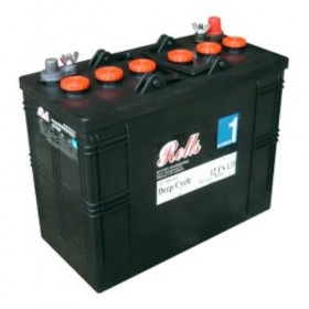Rolls 12V 12FS155 Deep Cycle Battery Rolls Leisure