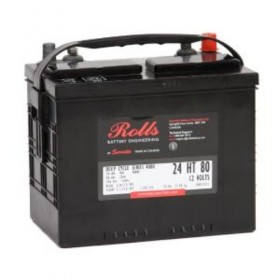 Rolls 24HT80 Deep Cycle Battery Rolls Golf Buggy