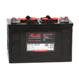 Rolls 30H125 Deep Cycle Battery Rolls Leisure