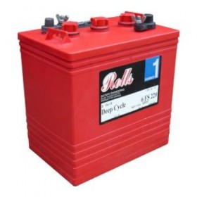 Rolls 6V 6-FS-235 Deep Cycle Battery Rolls Golf Buggy