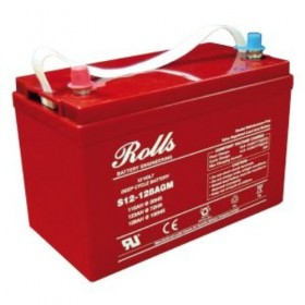 Rolls 12V S12-128AGM Deep Cycle Battery Rolls Agricultural