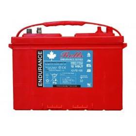 Rolls 12v 12FS105 12v 105Ah Deep Cycle Battery Rolls Marine