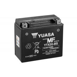 Yuasa YTX20-BS 12V 18.9Ah AGM Motorcycle Battery